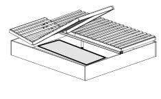 Disselkamp Comfort M Bettenzubehör für Einzel- und Doppelbetten