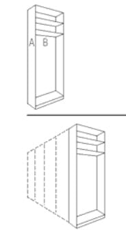 nolte germersheim schwebe dreh und faltt renschr nke attraction. Black Bedroom Furniture Sets. Home Design Ideas