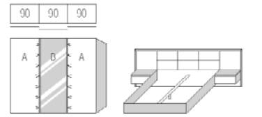 nolte germersheim komplettschlafzimmer ipanema vorzugskombinationen. Black Bedroom Furniture Sets. Home Design Ideas