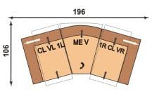 Polinova 64590560 CLVL1L-MEV-1RCLVR
