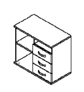 Röhr Büro Start Now Anbauteile / Container