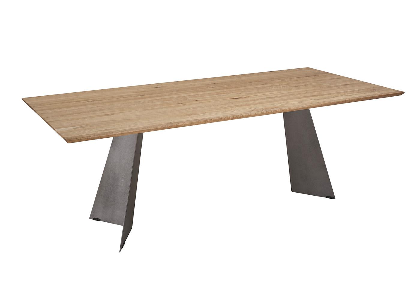 Silaxx Esstische 5252 Tisch Massivholzplatten