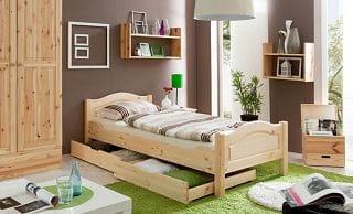 Ticaa Einzel- und Doppelbett Rita Einzelbett