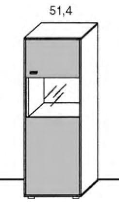 Gwinner Media Concept Highboard