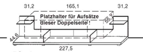 Gwinner Media Concept Winkelpaneel mit Aufsatz