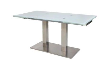 MWA Madrano Glastisch mit Auszugsfunktion