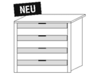 Nolte Germersheim Zubehör Zubehör Schwebetürenschränke für 100er-Mittelteil der Panoramaschränke