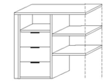 Nolte Germersheim Zubehör Zubehör Schwebetürenschränke für Schrankelemente mit 100 cm Breite