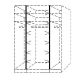 Nolte Germersheim Zubehör Zubehör Schwebetürenschränke für 160er-Falttüren-Panoramaschränke