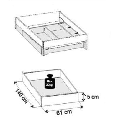 Wiemann Schlafzimmer Loft Bettenzubehör