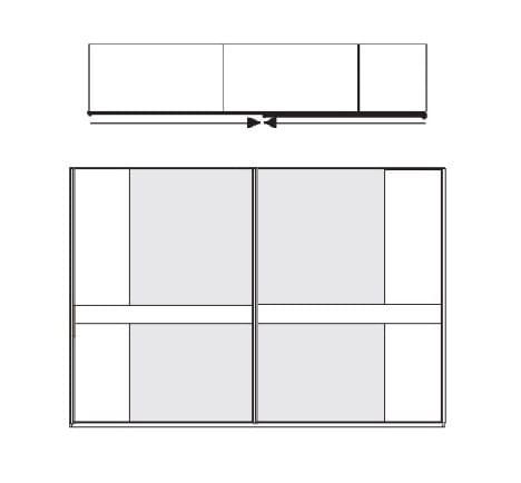 Wiemann Schlafzimmer Modena Plus Schwebetürenschränke