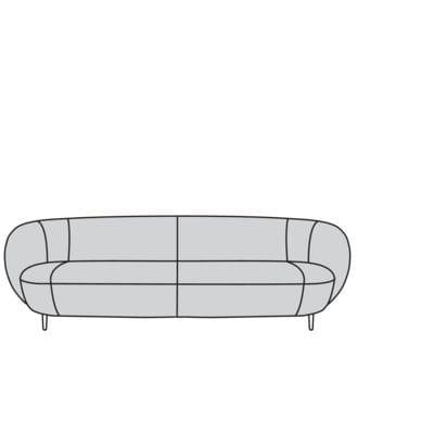 Willi Schillig Sofas 15510 - grace Sofa / Canapé