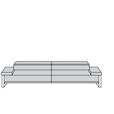 Willi Schillig Sofas 21151 - floyd Sofa / Canapé