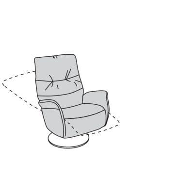 Willi Schillig armchair 32630 - limboo TV-Sessel / Ruhe- / Liege- / Relaxsessel ML55.