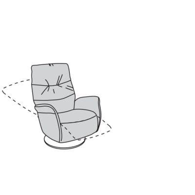 Willi Schillig armchair 32630 - limboo TV-Sessel / Ruhe- / Liege- / Relaxsessel MS50.