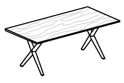 Voglauer Wohnen V-Alpin Tische AS116