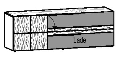 Voglauer Wohnen V-Alpin Lowboard