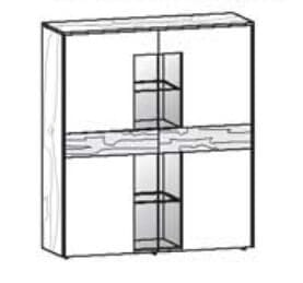 Voglauer Wohnen V-Solid Highboard