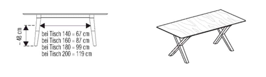 Voglauer Wohnen V-Solid Tische
