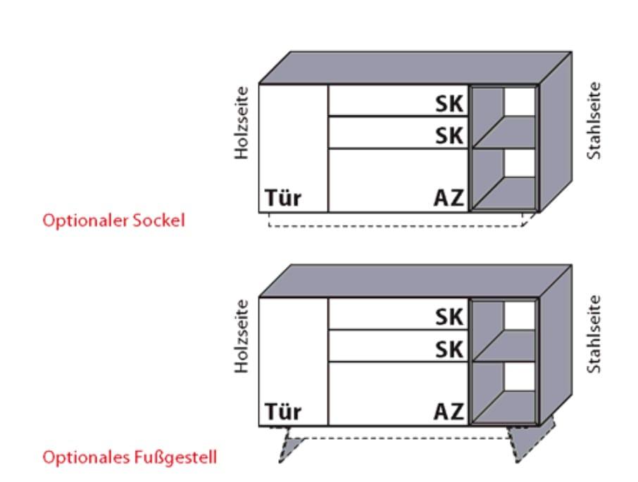 Wöstmann Wohnzimmer NW550 Sideboards