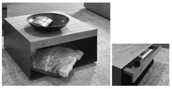Wöstmann Wohnzimmer NW550 Couchtische / Beistelltische