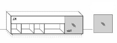 Wöstmann Wohnzimmer NW770 Lowboarde