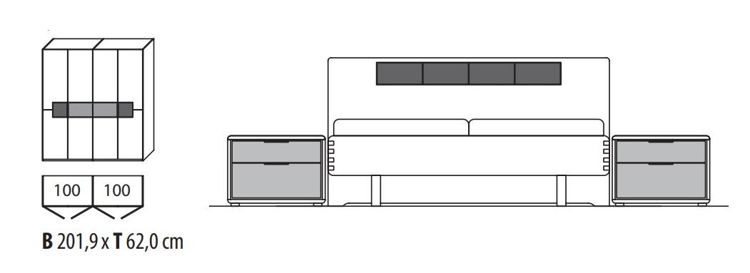 Wöstmann Schlafraum WSM 1600 Planungsvorschläge